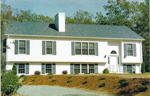 The d g modular homes for Split foyer modular homes